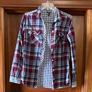 Eddie Bauer flannel shirt size medium